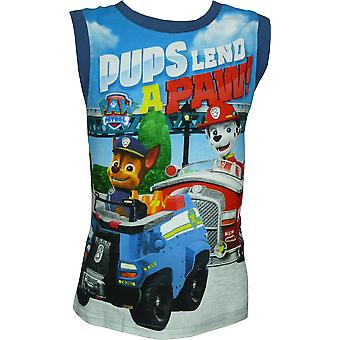 Boys Paw Patrol Sleeveless T-Shirt