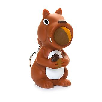 Cheatwell Games Squirrel Squeeze Popper - Soft Foam Shooter