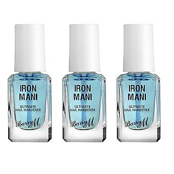 Barry M X 3 Barry M Iron Mani ongles durcisseur