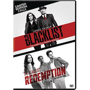 Blacklist: Ssn Four / Blacklist Redemption: Ssn 1 [DVD] USA import