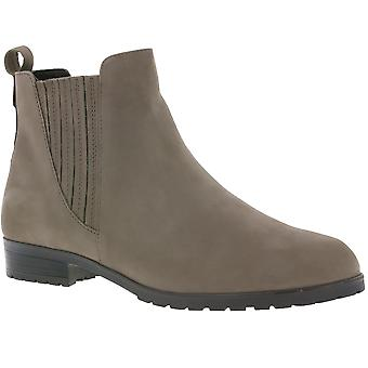 CAPRICE ladies genuine leather Chelsea boots beige 9-25352-29 351