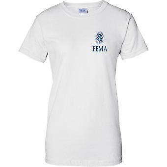 FEMA Homeland Security Insignia - Ladies Chest Design T-Shirt
