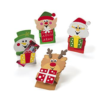 12 Make Your Own Foam Christmas Treat Holder - Kids Party