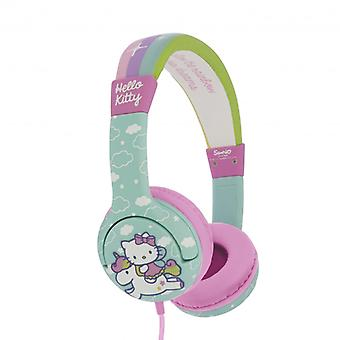 HELLO KITTY Kopfhörer Junior On-Ear 85dB(a) grün/Einhorn