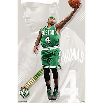 Boston Celtics - Isaiah Thomas Poster Print