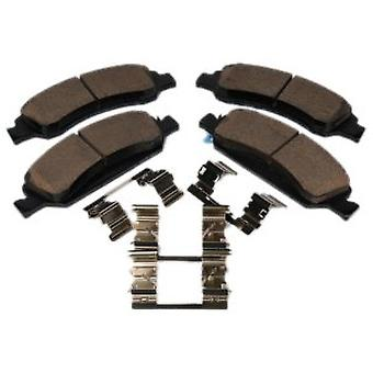 ACDelco 171-1007 GM Original Equipment Front Disc Brake Pad Kit with Brake Pads and Clips
