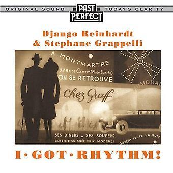 Jeg fik rytme: Reinhardt og Grappelli europæiske Jazz lyd-CD