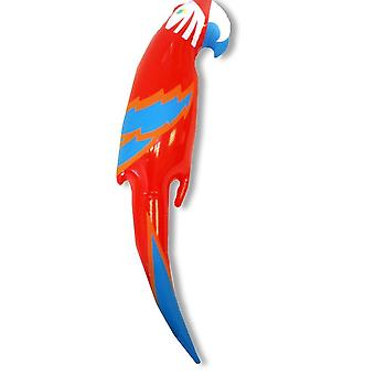 Novelty Inflatable/ Blow Up Parrot 75cm Tropical Pirate Fancy Dress Accessory