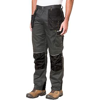 CAT Workwear Mens Skilled Ops Reflective Contrast Work Trousers Pants