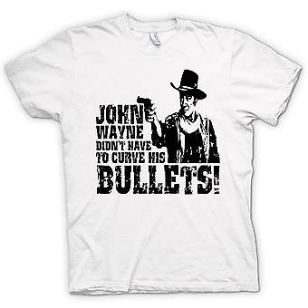 Mens T-shirt - John Wayne gebogen - Cowboy