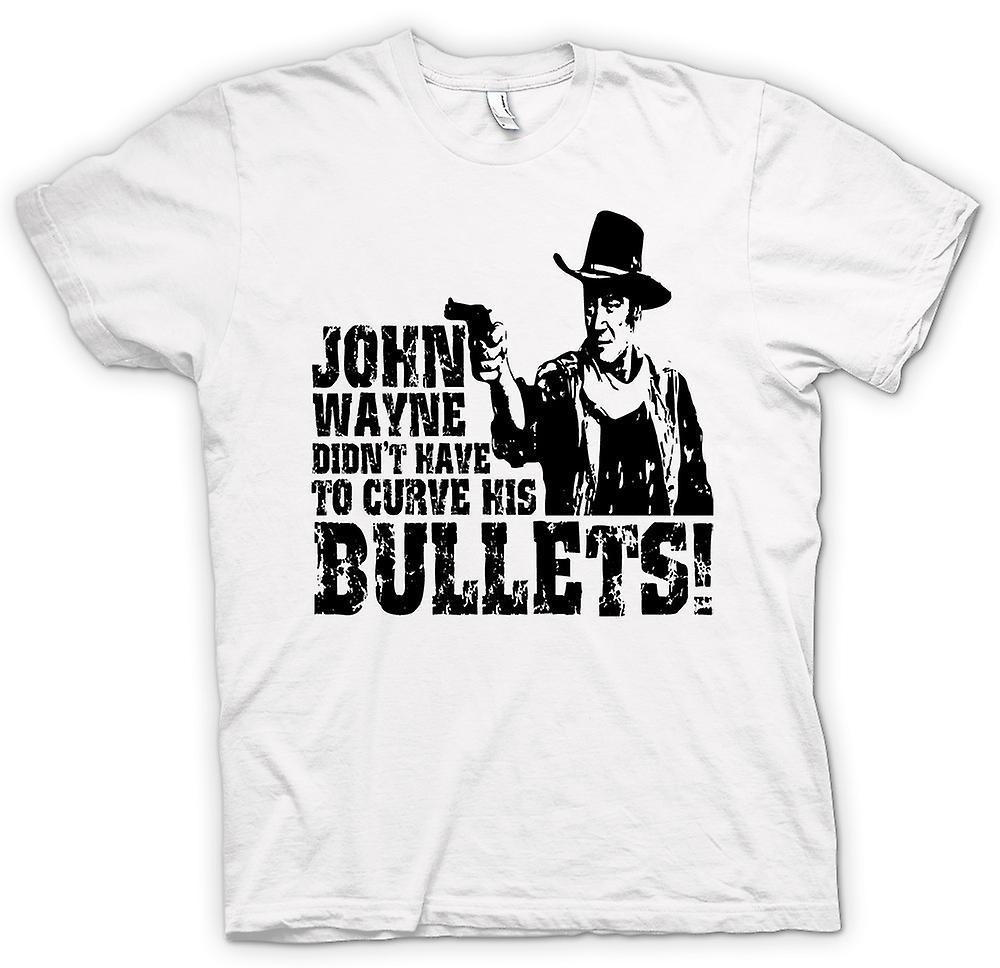 Herr T-shirt - John Wayne böjda - Cowboy