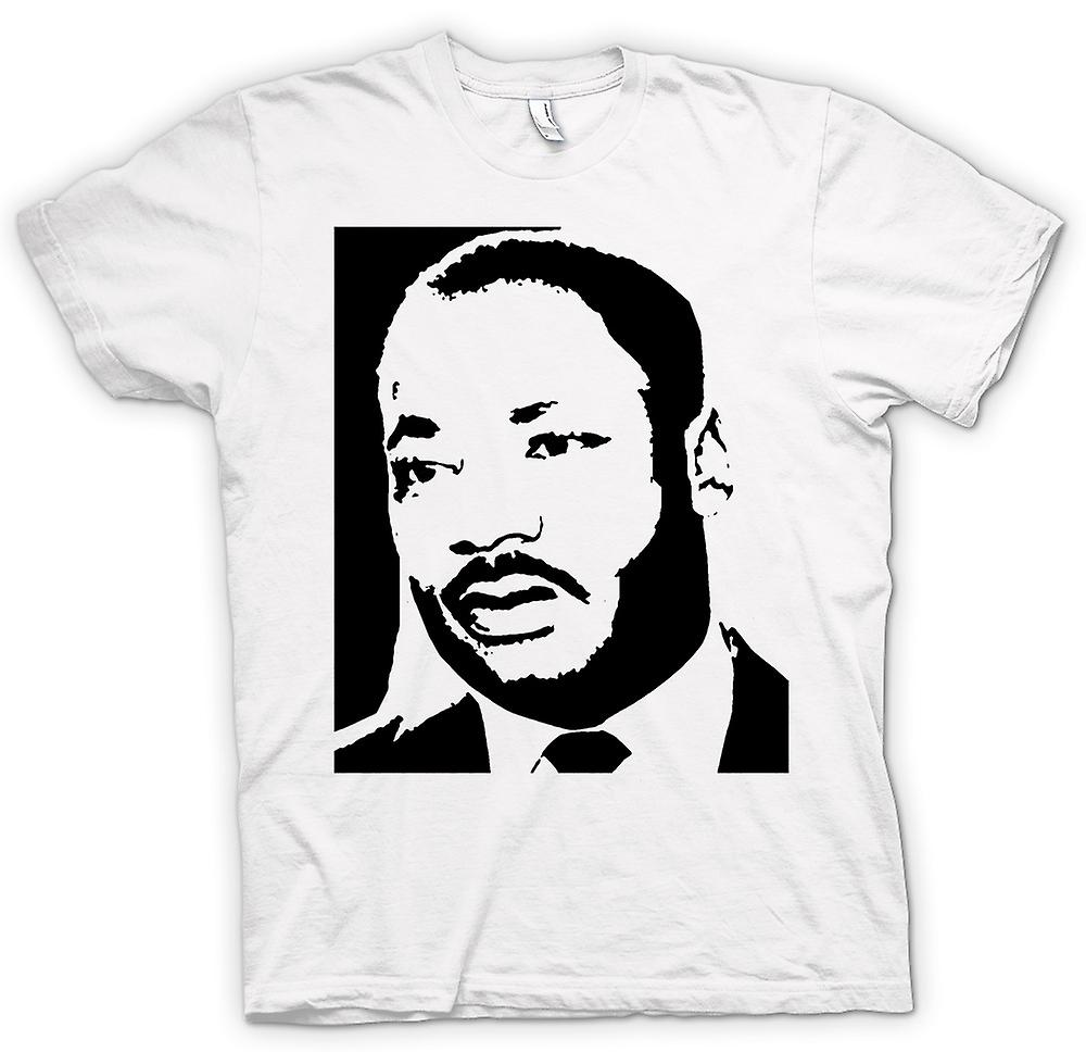 Womens T-shirt - Martin Luther King - BW ikonen