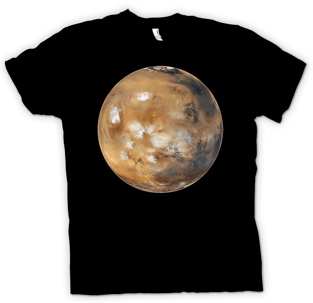 Mens T-shirt - Mars Cool Planet