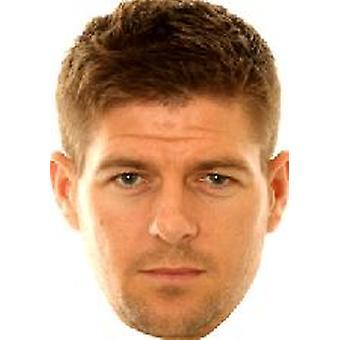 Steven Gerrard masque