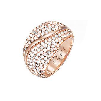 ESPRIT damer ring mässing Rosé Atropia ESRG02844C1