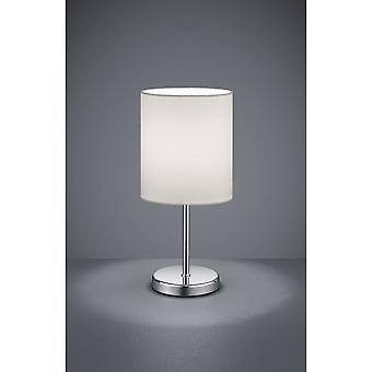 Trio Lighting Jerry Modern Chrome Metal Table Lamp