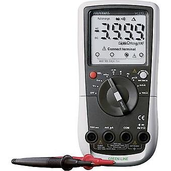 VOLTCRAFT VC270 Handheld multimeter Digital Calibrated to: ISO standards CAT III 600 V Display (counts): 4000