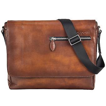 Bugatti Domus leather of Messenger shoulder bag 49545307