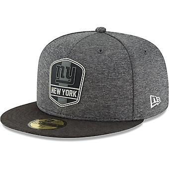 New era 59Fifty Cap - Black sideline New York Giants