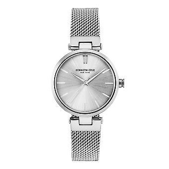 Kenneth Cole New York Damen-Armbanduhr Analog Quarz Edelstahl KC50543001