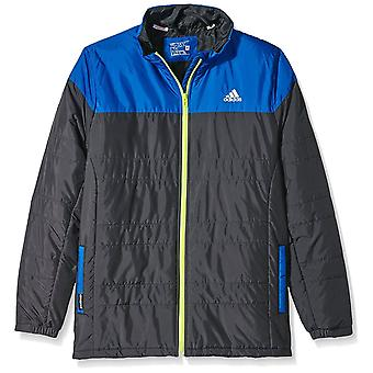 Adidas Childrens Light Jacket Black/Blue Size:128 Age 7-8Y