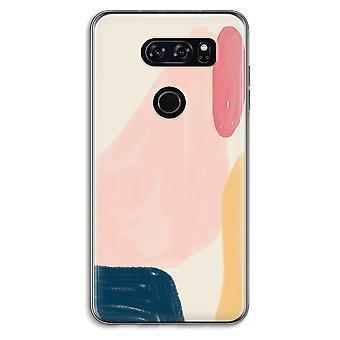 LG V30 Transparent Case - Saturday Flow