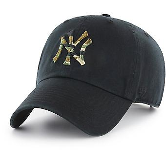 47 fire Adjustable Cap - CAMOFILL New York Yankees black