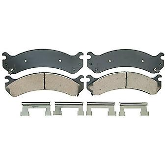 Wagner QuickStop ZD784 Ceramic Disc Pad Set Includes Pad Installation Hardware, Front