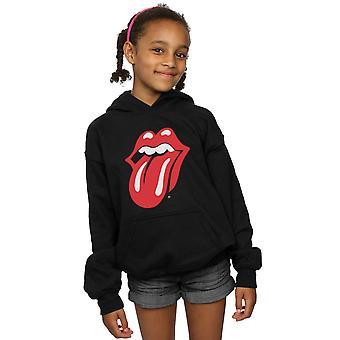 Rolling Stones Mädchen klassische Zunge Hoodie