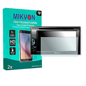 Pioneer AVH-X1600DVD Screen Protector - Mikvon Clear (Retail Package with accessories)