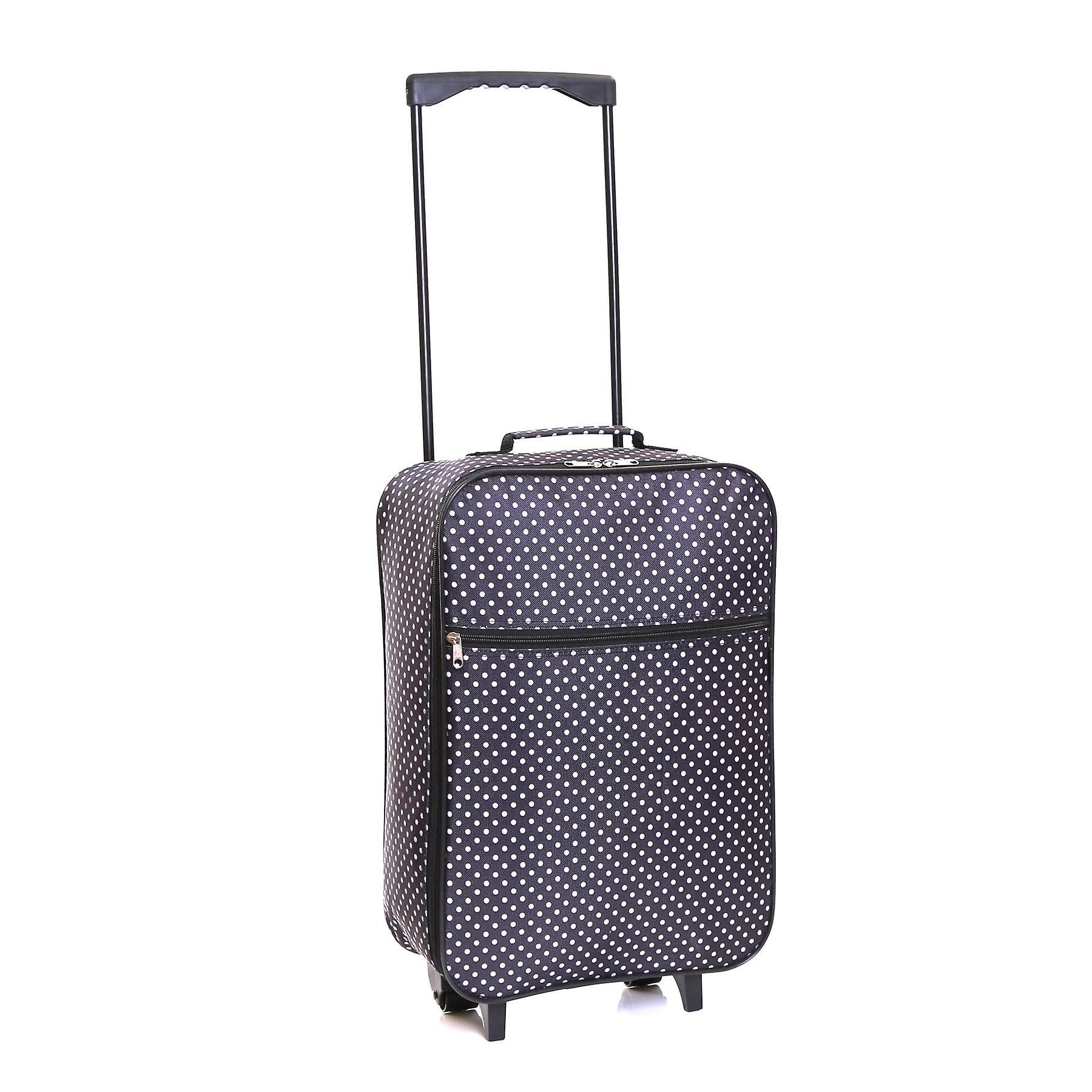 Slimbridge Barcelona Cabin Approved Bag, Black Dots