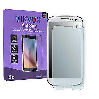 Samsung Galaxy S3 Neo Screen Protector - Mikvon AntiSun (Retail Package with accessories) (reduced foil)