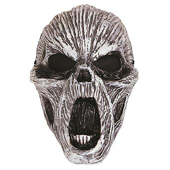 Ghost Glow In Dark Plastic Mask