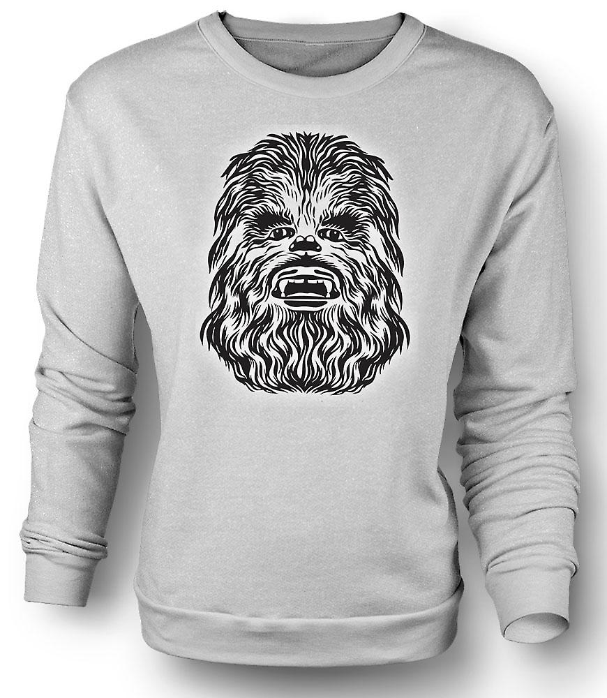 Mens Sweatshirt Star Wars - Chewbacca
