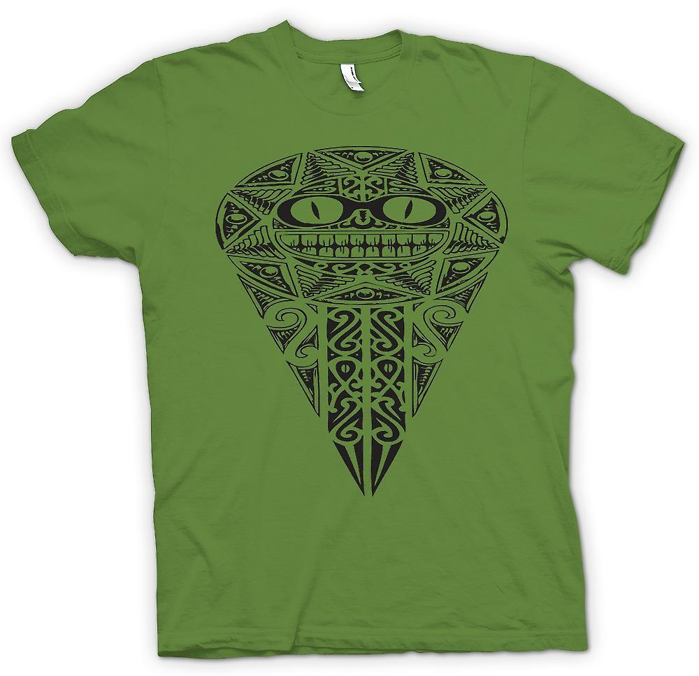 Mens t-skjorte-Aztec Tribal krig Design
