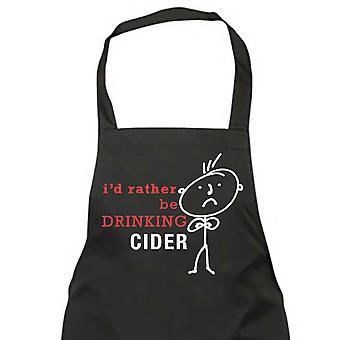 Je voudrais plutôt boire pour hommes cidre noir tablier