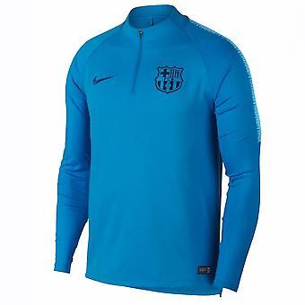 2018-2019 برشلونة نايكي حفر التدريب الأعلى (أزرق خط الاستواء)