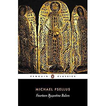 Catorze governantes bizantinos: A Chronographia de Michael Psellus (clássicos)