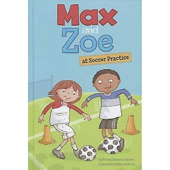 Max and Zoe at Soccer Practice