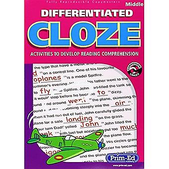 Differentiated Cloze: Middle: Activities to Develop Reading Comprehension
