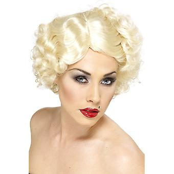 Hollywood icon starlet 20s wig blonde