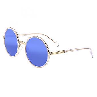Bertha Riley Polarized Sunglasses - Gold/Blue