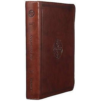 Bíblia de Journaling ESV (Trutone, marrom, mosaico projeto transversal)