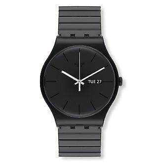 Swatch quartz Digital watch with plastic Strap _ SUOB708B