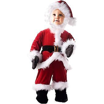 Weihnachtsmann-Kleinkind-Kostüm