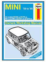 Mini Haynes manual cover steel fridge magnet