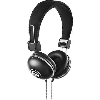 Wicked WI8500 EVAC Stereo Over-Ear Headphones - Black