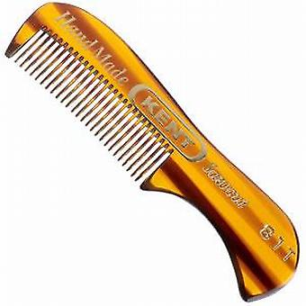 GB Kent A81T Small Moustache and Beard Comb