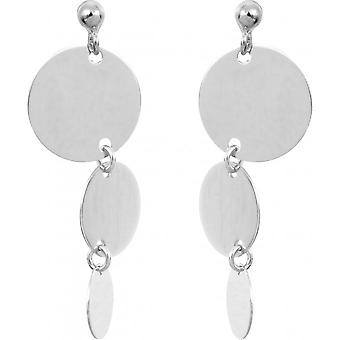 Earrings Clio Blue BO1675A - earrings silver timeless woman