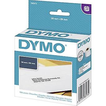 DYMO 1983173 Label roll 89 x 28 mm Paper White 130 pc(s) Permanent Address labels